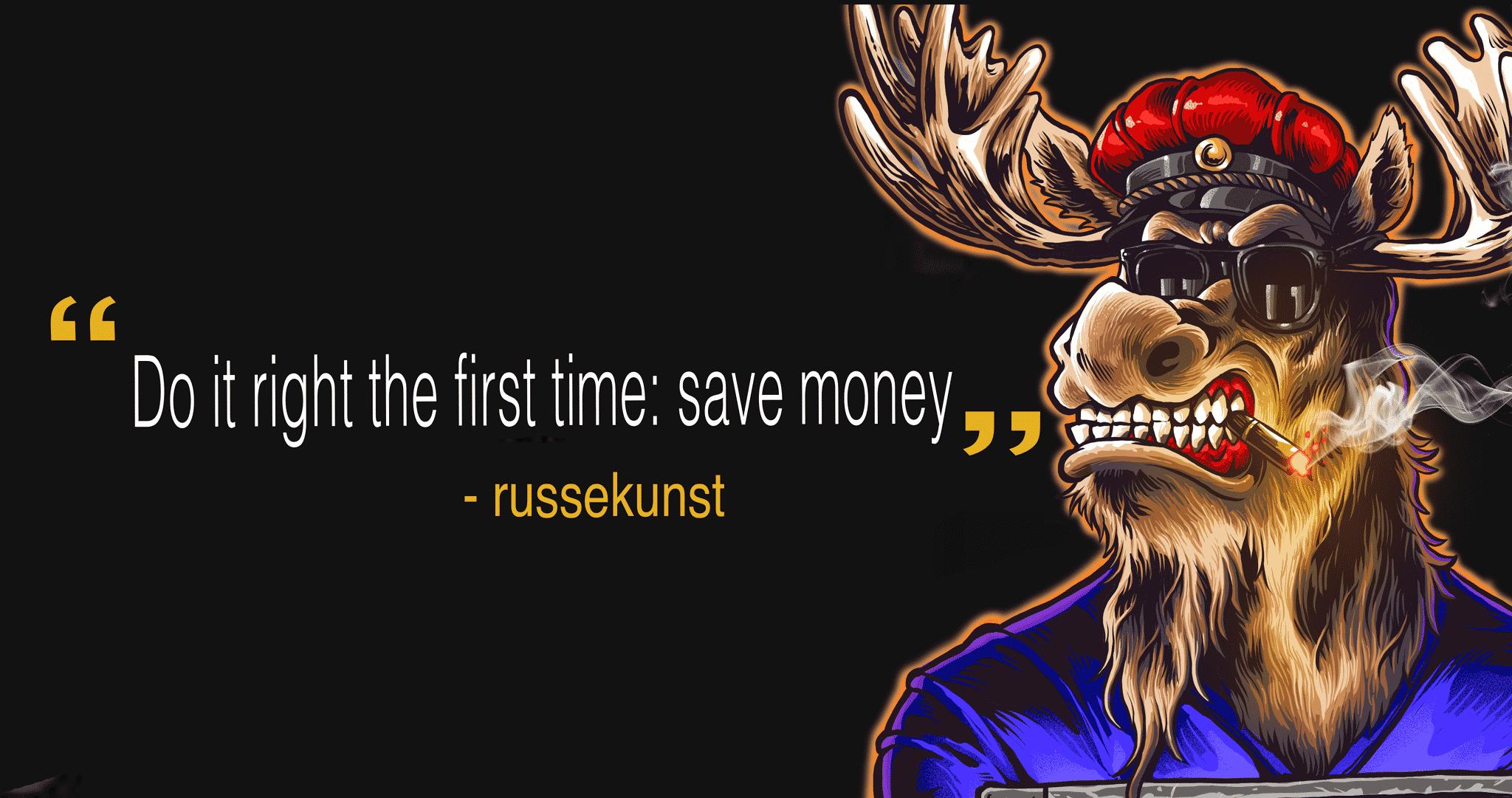 russelogo gjort riktig