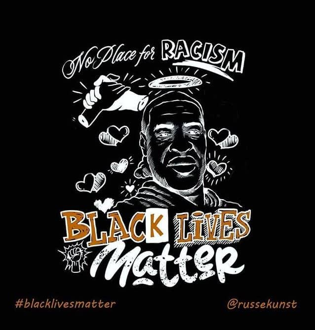 russekunst black lives matter art